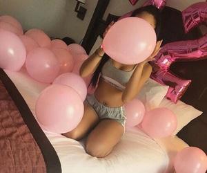 22, balloons, and girl image