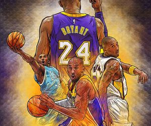 Basketball and kobe bryant image