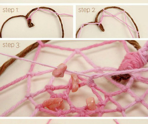diy, pink, and tutorial image