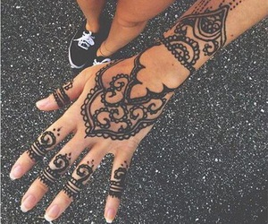 ask, black, and henna image