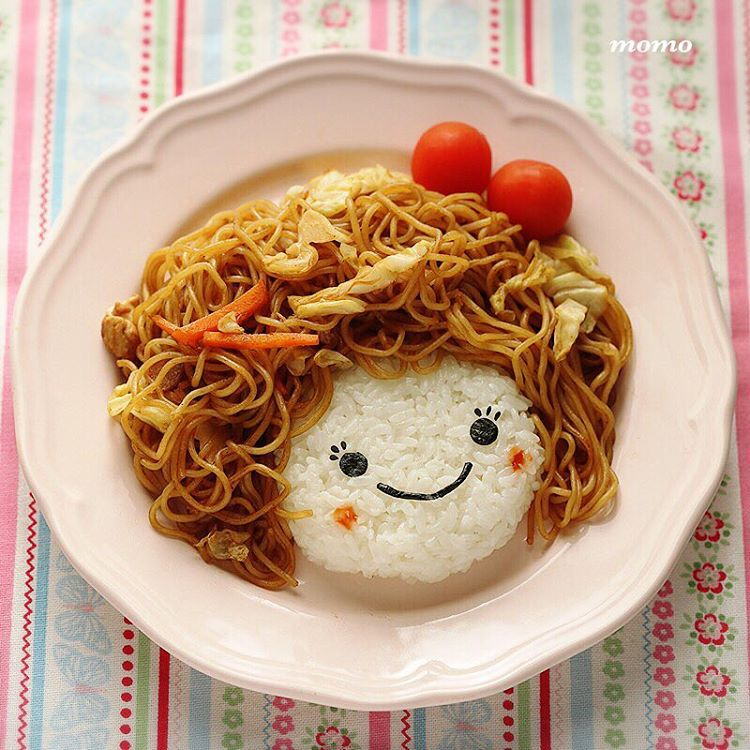 food, noodle, and kawaii image