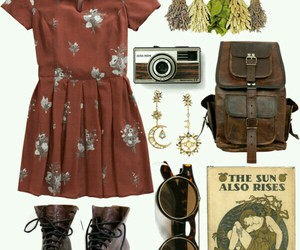 boots, outfit, and travel image