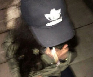 cyber, ghetto, and adidas hat image