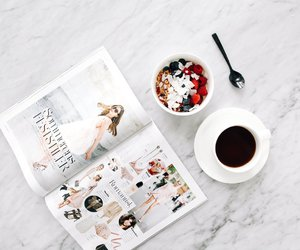 coffee, breakfast, and cup image