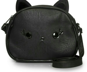 cats, fashion, and purse image