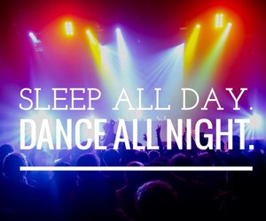 dance, music, and quote image