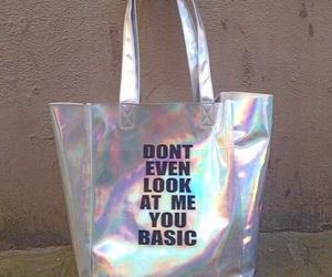 bag, grunge, and basic image
