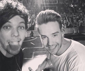 liam payne, one direction, and louis tomlinson image