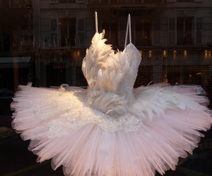 dress, ballet, and pink image