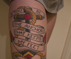 anchor, color, and Lyrics image