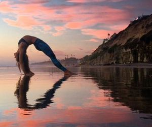 yoga, heart, and sport image