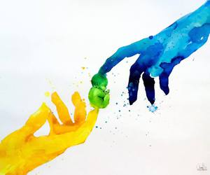 color and love image