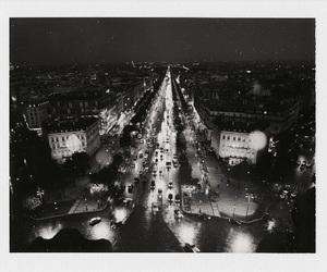 city, lights, and paris image