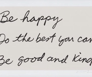 quotes, happy, and kind image