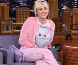 miley cyrus, pink, and miley image