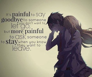 anime, quotes, and sad image