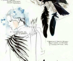 mockingjay, cinna, and the hunger games image
