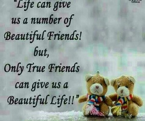friendship, life, and friends image