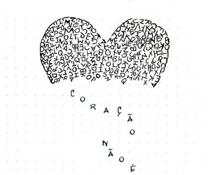 heart, cute, and coraçao image