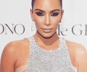 kim kardashian and makeup image