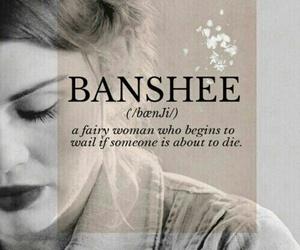 banshee, teen wolf, and lydia martin image