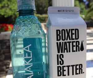 water, summer, and drink image