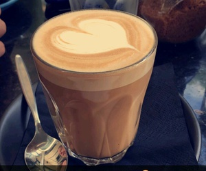 coffee, drinks, and snapchat image
