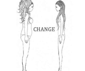 change, skinny, and fat image