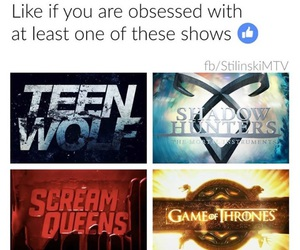 tv shows, teen wolf, and got image