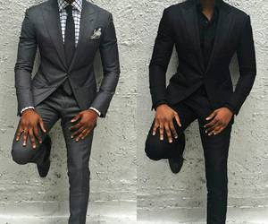 black, fashion, and swag image