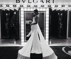 dress, fashion, and bvlgari image