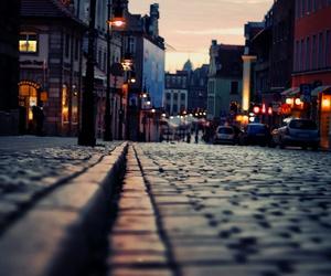 street, city, and light image