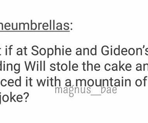 sophie collins and gideon lightwood image