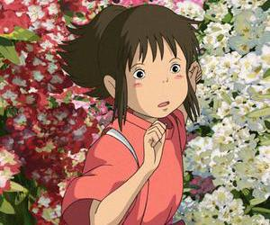 anime, spirited away, and studio ghibli image