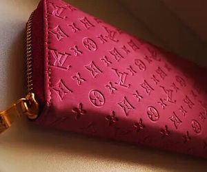 pink, Louis Vuitton, and LV image