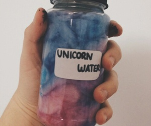 unicorn, water, and tumblr image