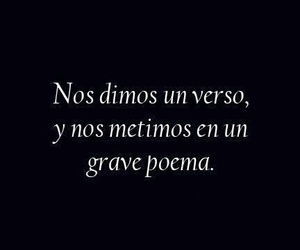 love, poema, and frases image