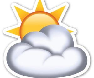 cloud, sky, and sun image