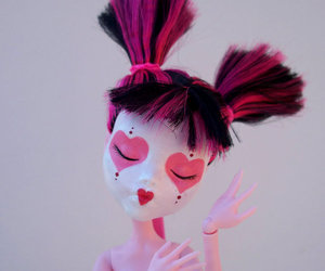 doll, monster high, and repaint image