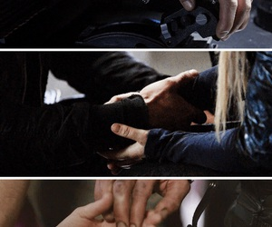 100, griffin, and bellarke image