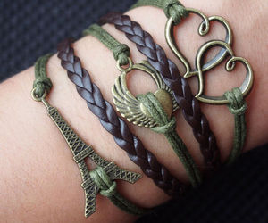anchor, bracelet, and charm bracelet image