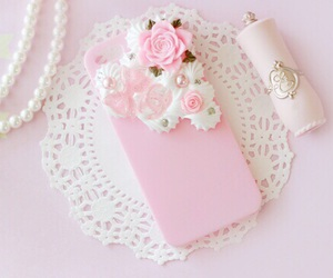 pink, cute, and girly image