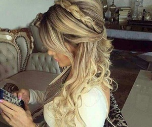 hair, luxury, and styl image
