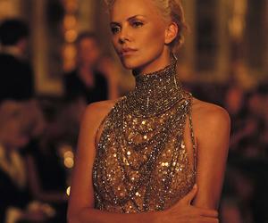 Charlize Theron, dior, and dress image