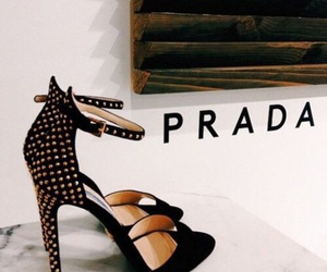 Prada, shoes, and heels image