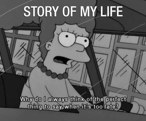 simpsons, funny, and me image