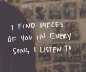 listen, song, and pieces image