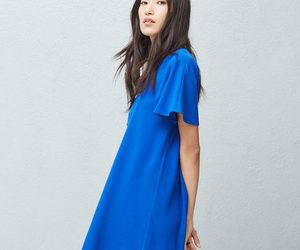 electric blue, fashion, and style image
