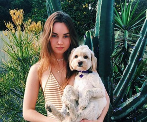 liana liberato and dog image