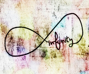infinity, wallpaper, and forever image
